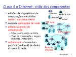 o que a internet vis o dos componentes