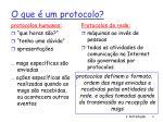 o que um protocolo