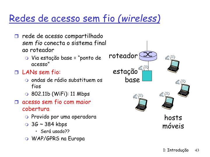 rede de acesso compartilhado