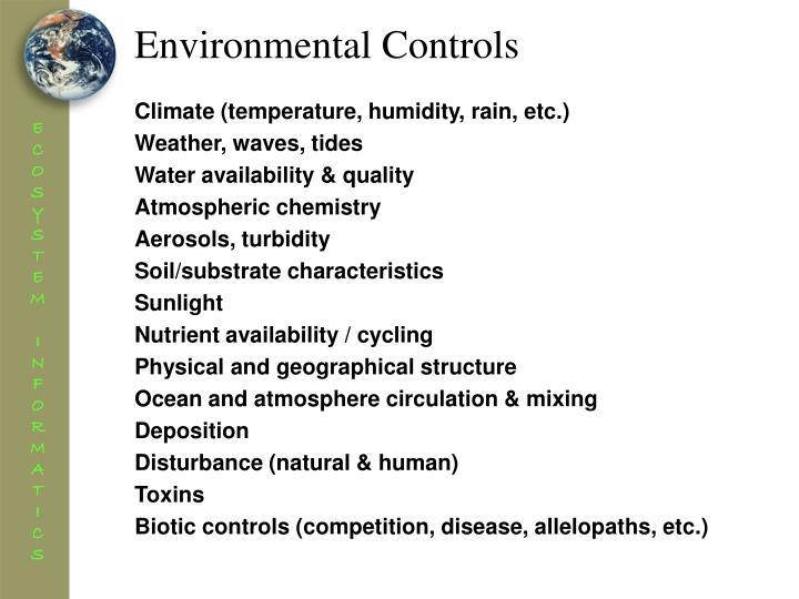 Environmental Controls