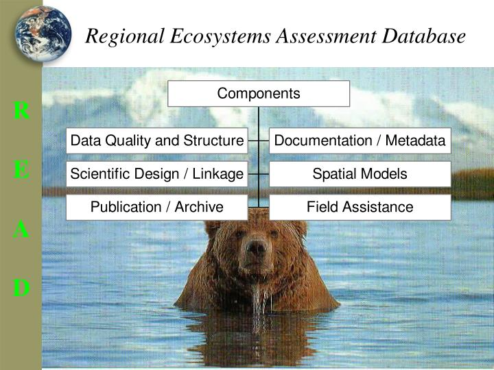 Regional Ecosystems Assessment Database