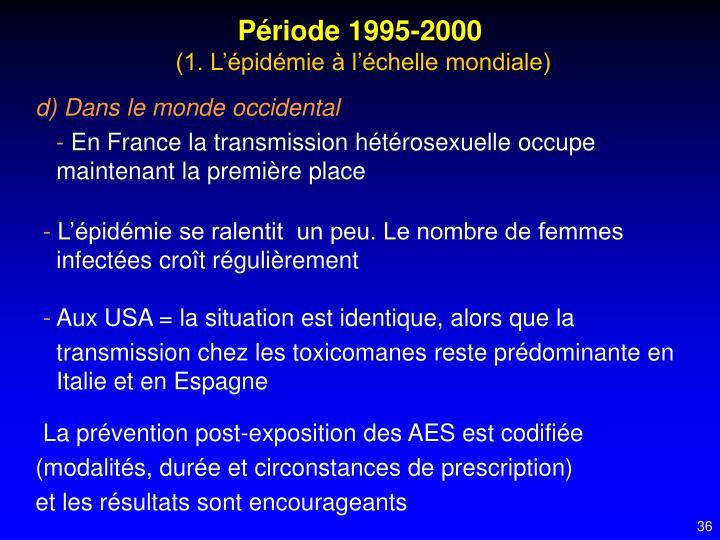 Période 1995-2000