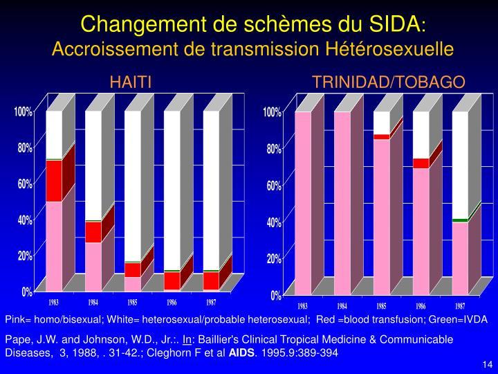 Changement de schèmes du SIDA