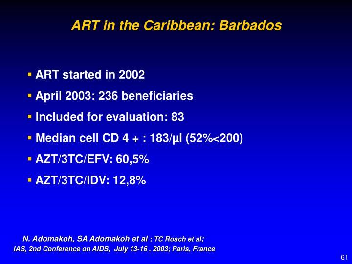ART in the Caribbean: Barbados