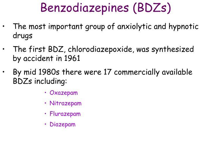 Benzodiazepines (BDZs)