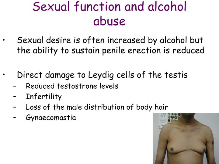 Sexual function and alcohol abuse