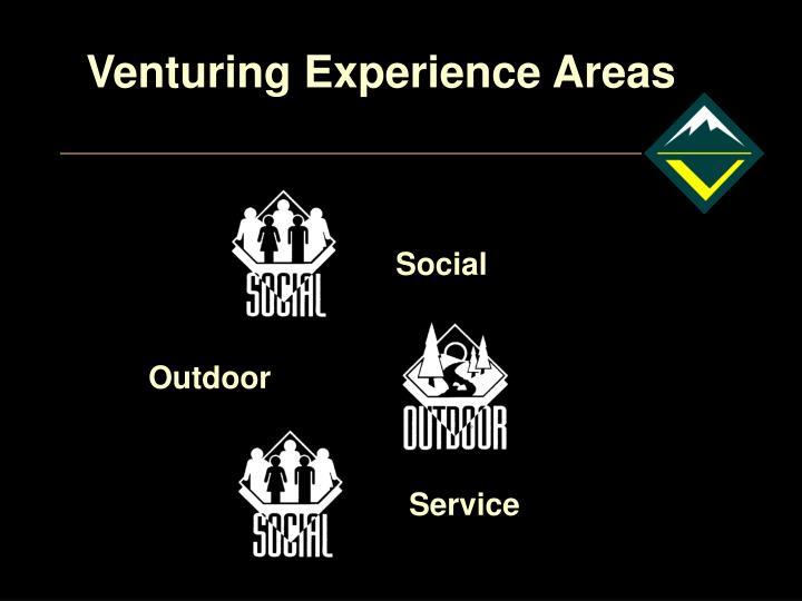 Venturing Experience Areas