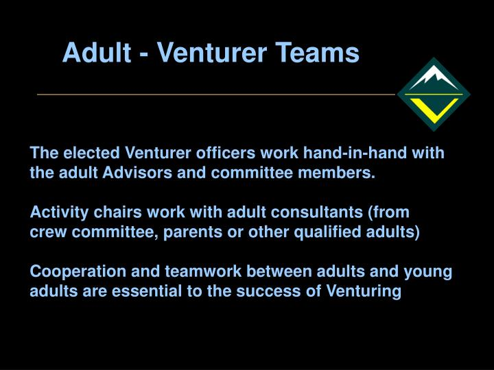 Adult - Venturer Teams