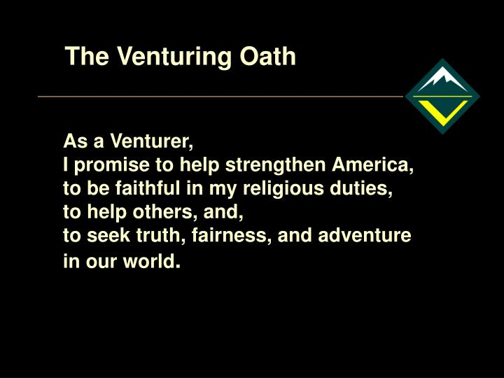 The Venturing Oath