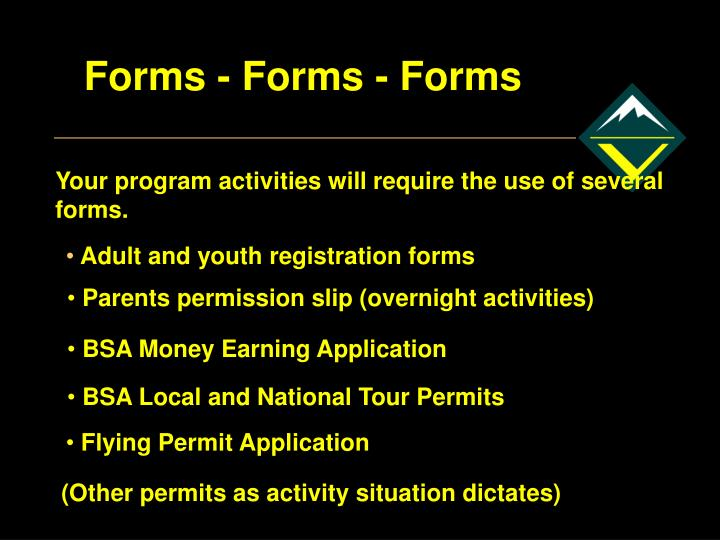 Forms - Forms - Forms