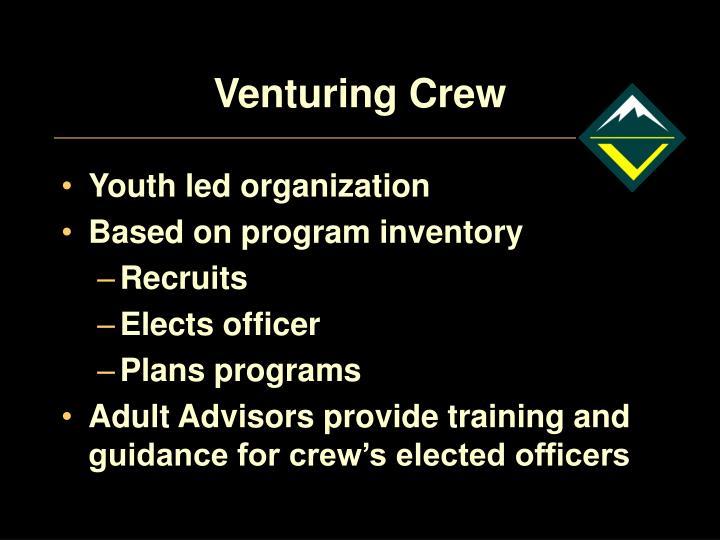 Venturing Crew
