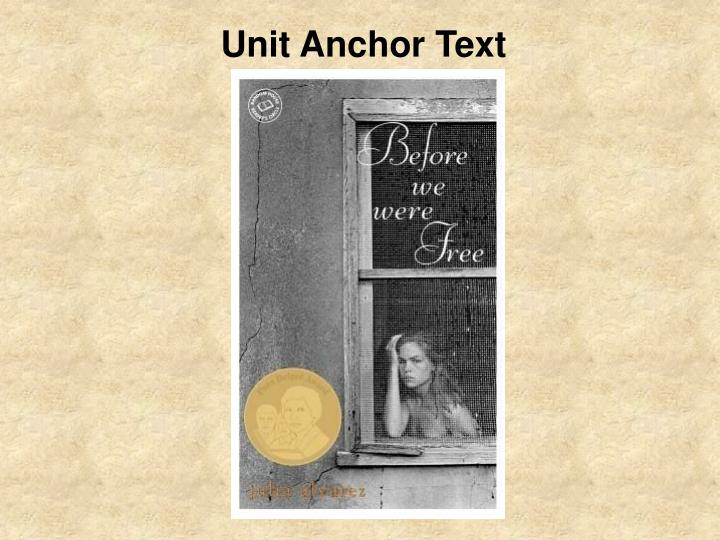 Unit Anchor Text