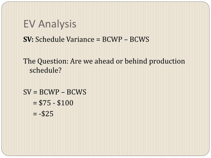EV Analysis