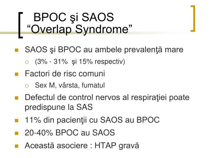 BPOC şi SAOS
