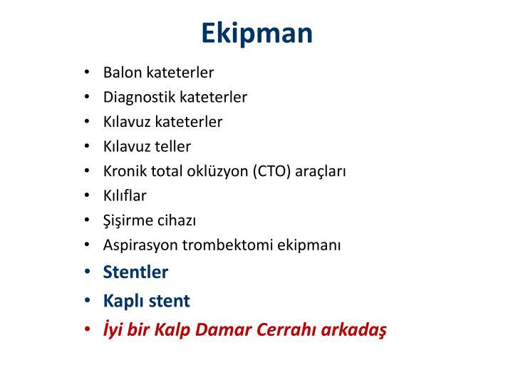 Ekipman