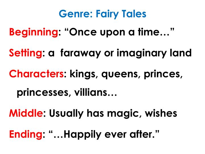 Genre: Fairy Tales