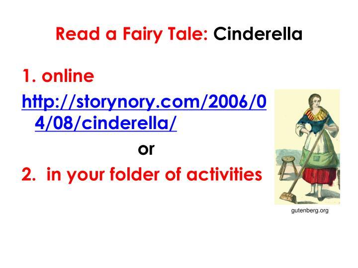 Read a Fairy Tale: