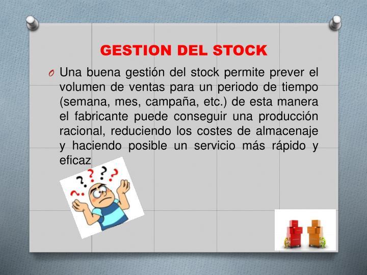 GESTION DEL STOCK