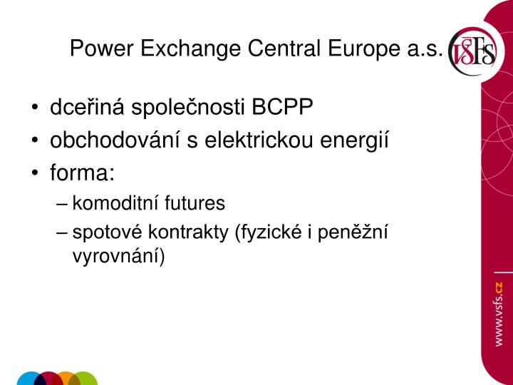Power Exchange Central Europe a.s.