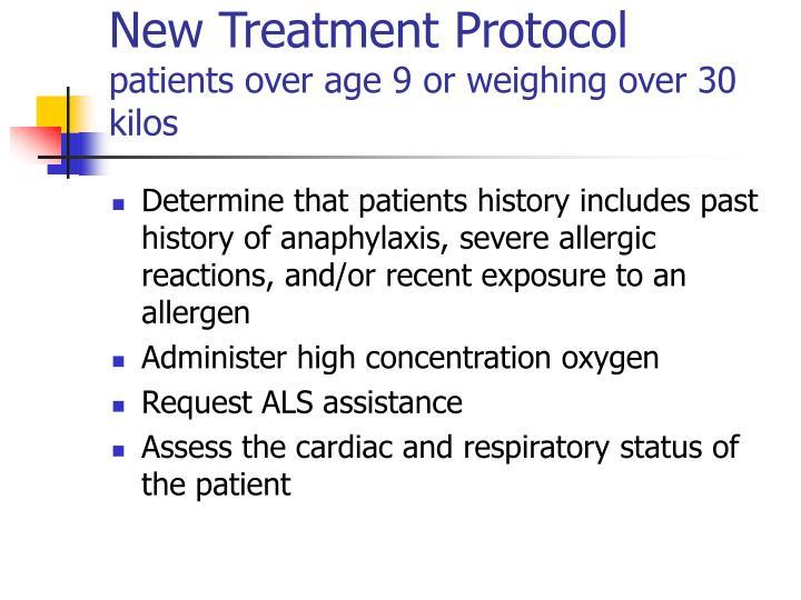 New Treatment Protocol
