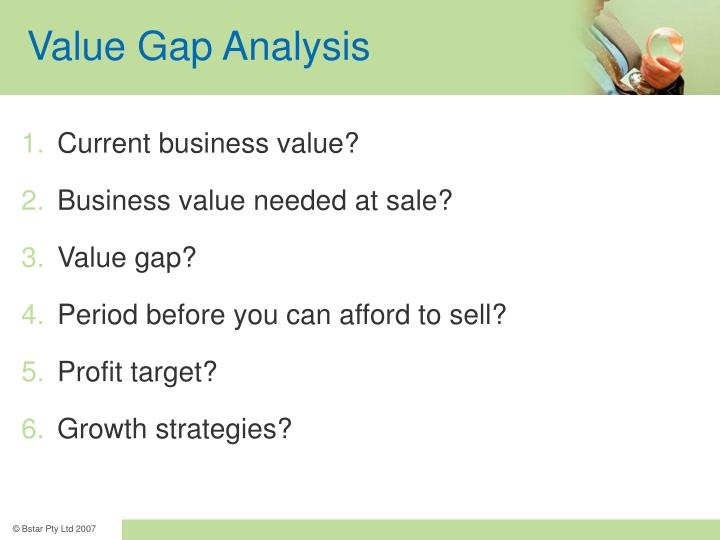 Value Gap Analysis
