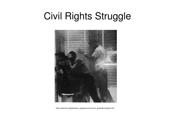Civil Rights Struggle