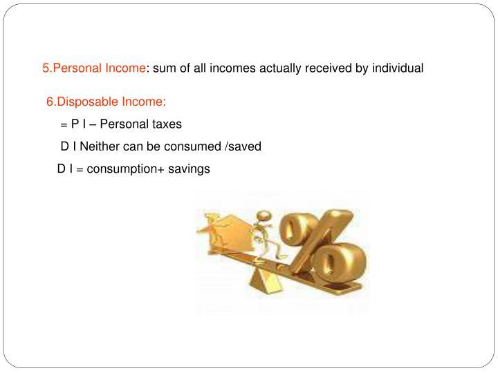 5.Personal Income