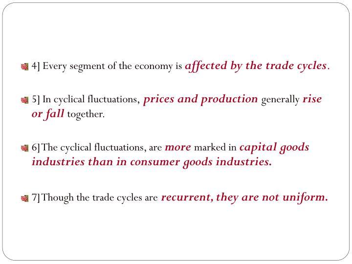 4] Every segment of the economy is