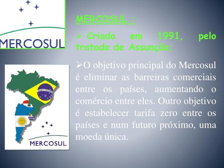 MERCOSUL :