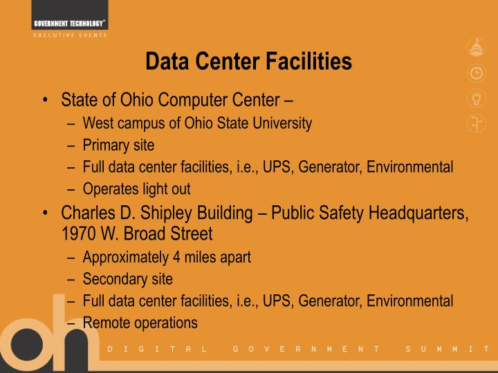 Data Center Facilities