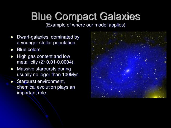 Blue Compact Galaxies