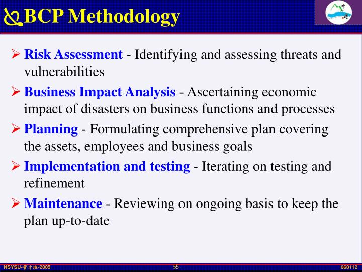 BCP Methodology