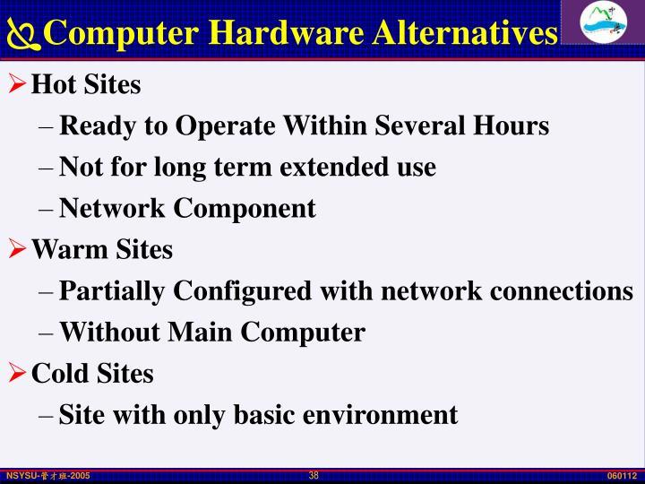 Computer Hardware Alternatives