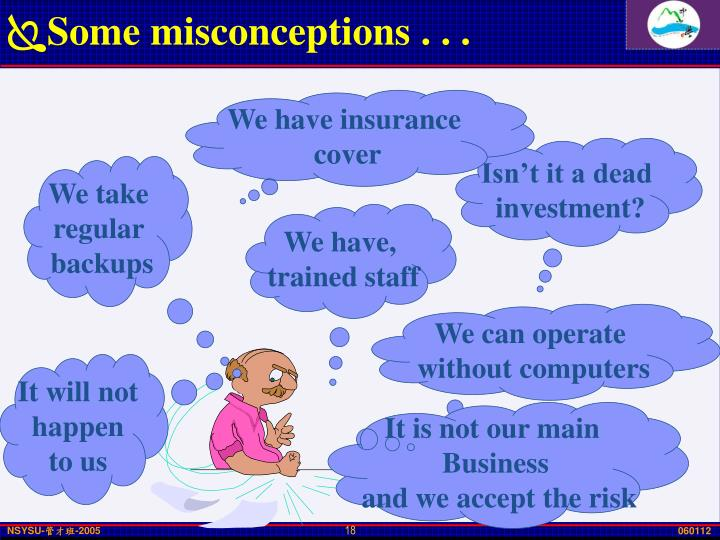 Some misconceptions . . .