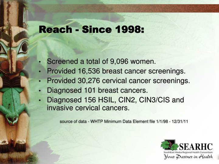 Reach - Since 1998: