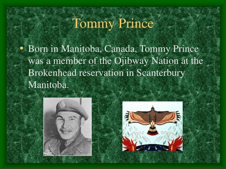 Tommy Prince