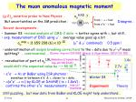 the muon anomalous magnetic moment