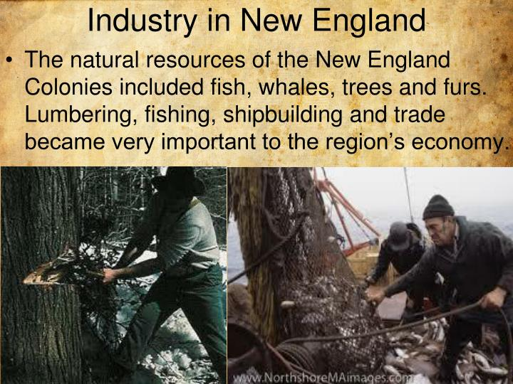 Industry in New England