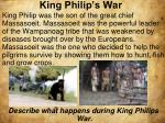 king philip s war