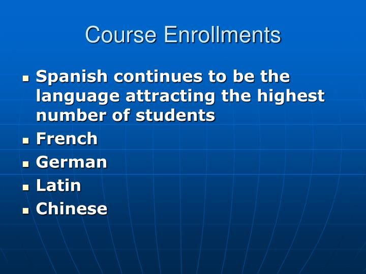 Course Enrollments