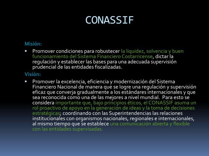 CONASSIF