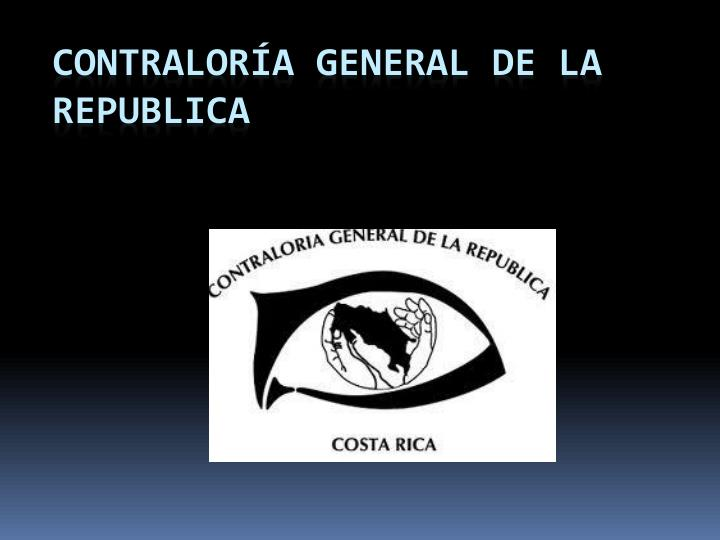 Contralora General de la Republica