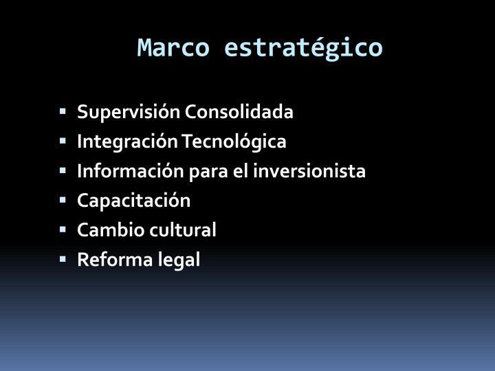 Marco estratgico