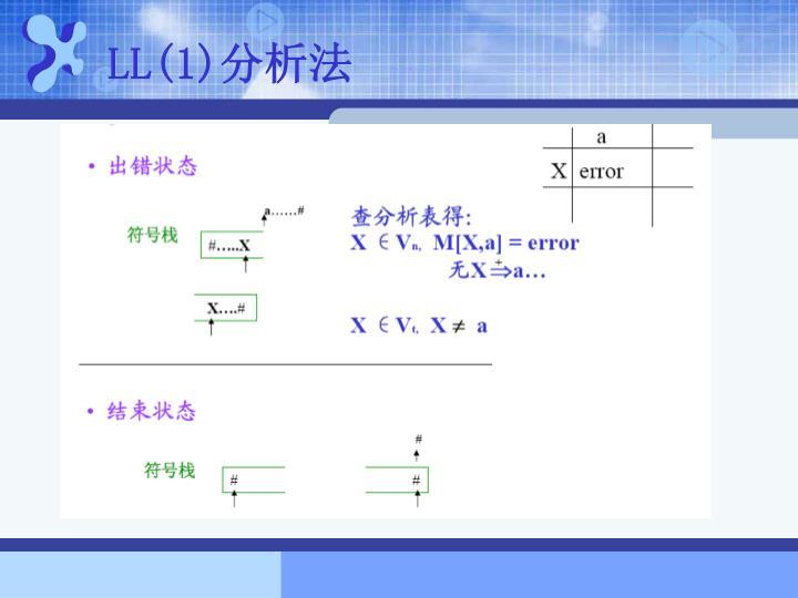 LL(1)