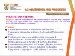 achievements and progress1