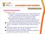 achievements and progress4
