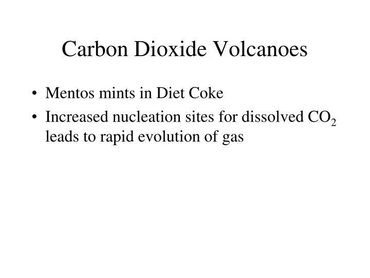 Carbon Dioxide Volcanoes