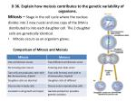 d 36 explain how meiosis contributes to the genetic variability of organisms2