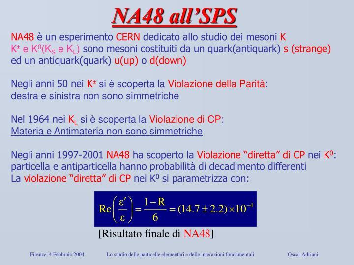 NA48 all'SPS