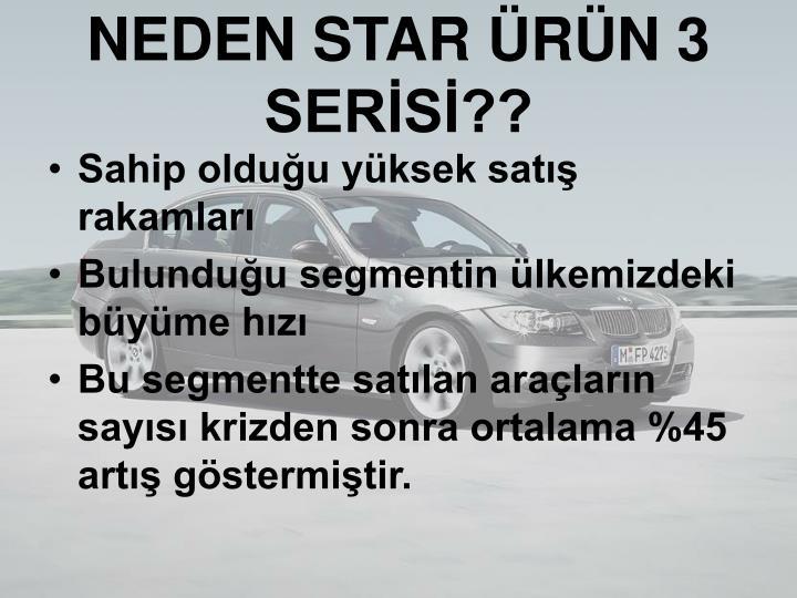 NEDEN STAR ÜRÜN 3 SERİSİ??
